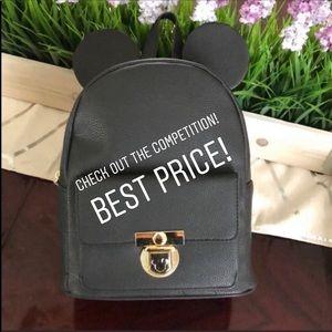 ❤️ SALE! Disney Mickey Mini Backpack Bag w/Ears!